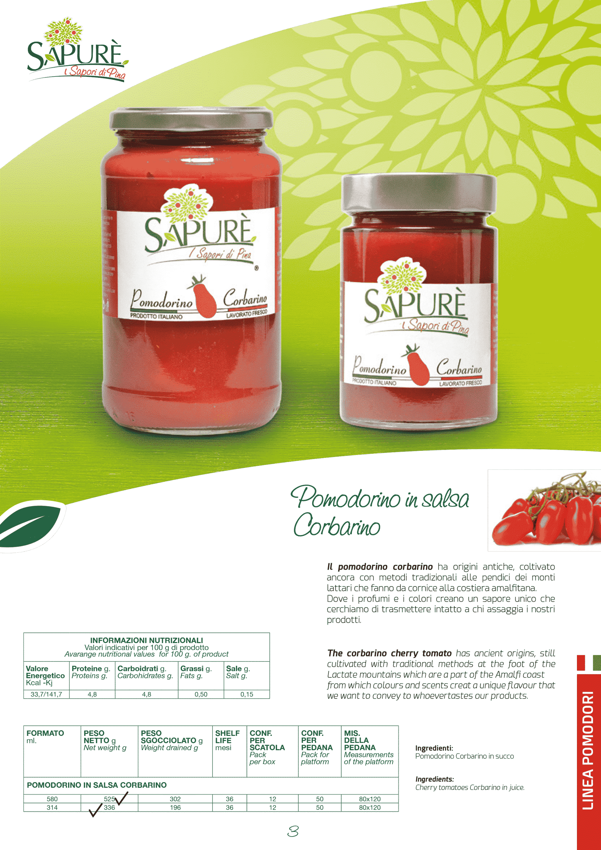 Pomodorino in salsa Corbarino